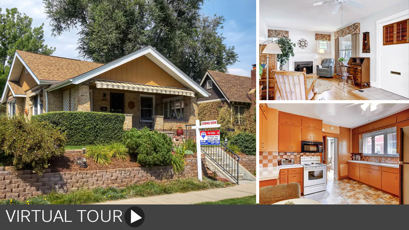Sold! Classic Washington Park bungalow half a block from the park!