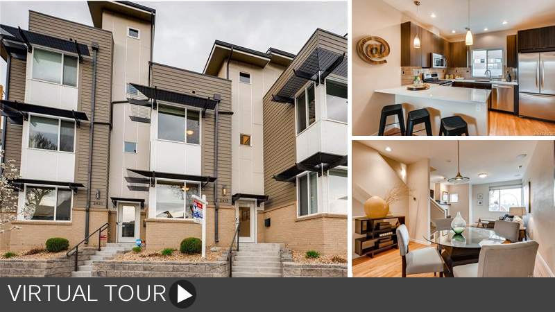Sold! Sun-filled and Modern Townhome in LoHi