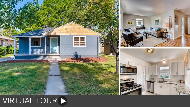 Sold! Beautifully Updated Bungalow in Cherry Hills Vista